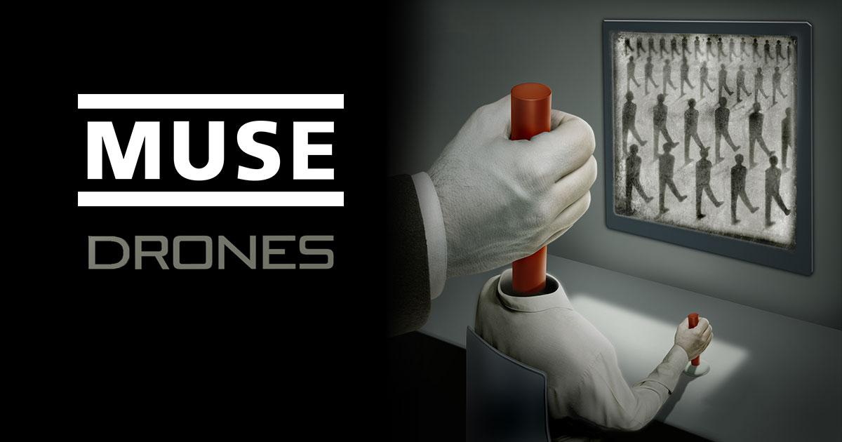 'Drones' อัลบั้มใหม่จาก Muse เปิดตัวอย่างสวยงาม ครองอันดับ 1 ชาร์ตเพลงอังกฤษและอเมริกัน!