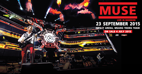 Hot News! Muse offering Fan Club Pre-Sale in Bangkok NOW!