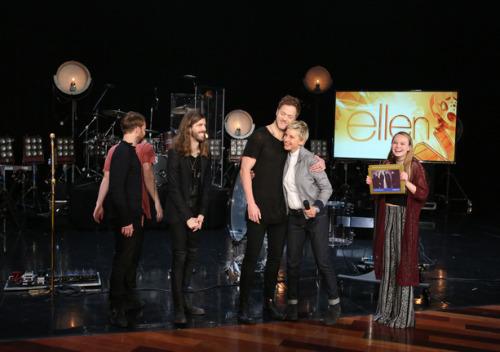 Imagine Dragons  บุก Ellen Show รายการโทรทัศน์ชื่อดังแห่งอเมริกาใน Live เปิดตัว 'Smoke+Mirrors'