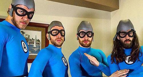 Imagine Dragons ฟอร์มทีมใหม่! ขอแปลงร่างเป็น The Aquabats