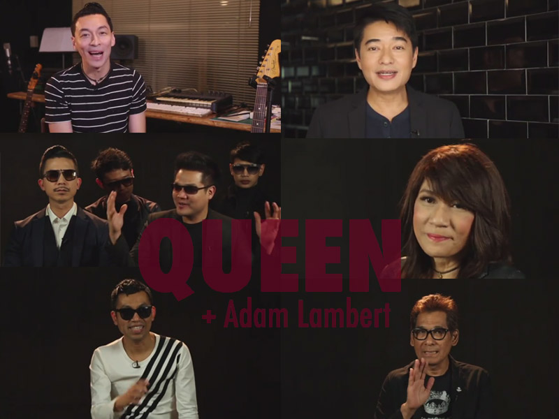 Queen + Adam Lambert TV Special Live!