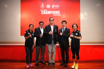BEC-Tero and Channel 3 is joining forces with the Athletic Association of Thailand to support the ongoing development of Thai athletics and support two Thai long-distance runners at the 2016 Olympic Games in Rio de Janeiro.