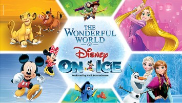 Delight in the worlds of Disney's Frozen and Disney•Pixar's Finding Dory at The Wonderful World of Disney On Ice from 30 March – 2 April 2017