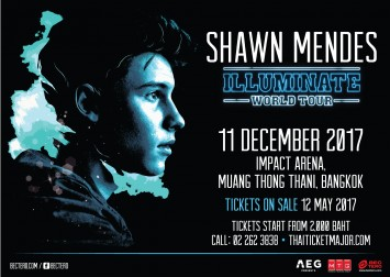 Global sensation Shawn Mendes heading to Bangkok for his first Thai concert on 11 December