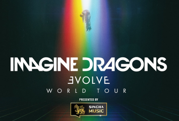 Urgent! Venue Change!  Singha Music presents  Imagine Dragons Evolve World Tour in Bangkok  on 11 January will be moved to Impact Challenger Hall 1, Muang Thong Thani
