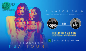 FIFTH HARMONY BRINGING THEIR PSA TOUR TO BANGKOK  FOR ONE SHOW ONLY ON 5 MARCH