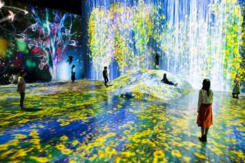 """""""ทีมแล็บ"""" เปิดพิพิธภัณฑ์ศิลปะดิจิทัลถาวรแห่งแรก """"โมริ บิลดิ้ง ดิจิทัล อาร์ท มิวเซียม: ทีมแล็บ บอร์เดอร์เลส"""" ยกงานศิลป์กว่า 50 ชิ้น มาแสดงบนพื้นที่กว่า 10,000 ตารางเมตร"""