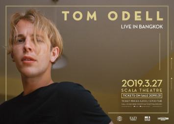 BRIT Awards' Critics' Choice winner Tom Odell heading to Thailand  on 27 March at Scala Theatre