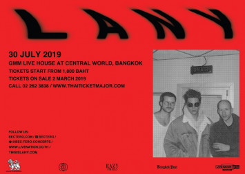 LANY BRINGS MALIBU NIGHTS WORLD TOUR TO THAILAND THIS JULY