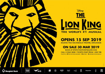THE WORLD'S #1 MUSICAL, DISNEY'S THE LION KING TO PREMIERE IN BANGKOK THIS SEPTEMBER