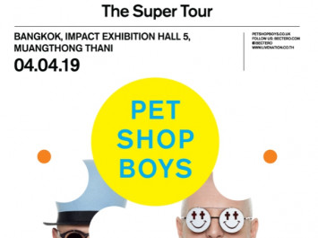Pet Shop Boys Super Tour 2019  4 APRIL 2019 CANCELLATION NOTICE