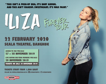Iliza Shlesinger is coming to crack you up! First Time in Thailand Iliza: The Forever Tour Live in Bangkok 22 February 2020 at Scala Theatre