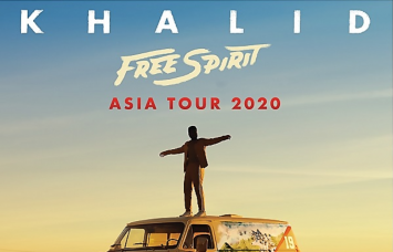 KHALID ANNOUNCES 2020 ASIA DATES FOR HIS HEADLINE 'KHALID FREE SPIRIT WORLD TOUR' BANGKOK INCLUDED!  24 MARCH, IMPACT ARENA, MUANG THONG THANI  GENERAL ON SALE BEGINS 10AM, 15 DECEMBER 2019