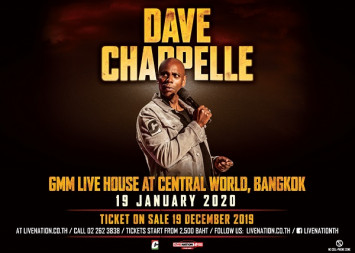 Dave Chappelle Live in Bangkok 2020  Acclaimed stand-up comic coming for one show only!   Sunday 19 January 2020 | GMM Live House @CentralWorld