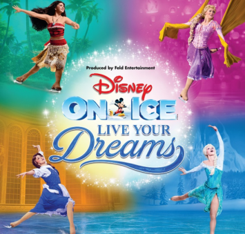Experience the inspiring stories of Disney at Disney On Ice Presents Live Your Dreams from 1-5 April at Impact Arena, Muang Thong Thani