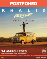 KHALID FREE SPIRIT WORLD TOUR' ASIA 2020 TOUR POSTPONED
