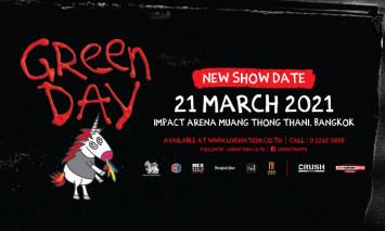Green Day Live in Bangkok Cancelled