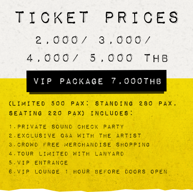 Seconds Of Summer Tour  Ticket Prices