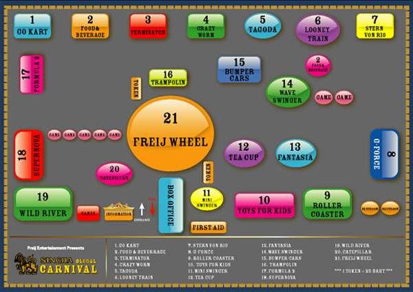 แผนที่ Singha Global Carnival